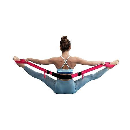 LB Correa De Yoga para Estirar Split Pilates Belt Fitness ...