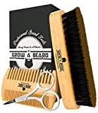 Best Barber Combs - Beard Brush and Comb Set for Men Review
