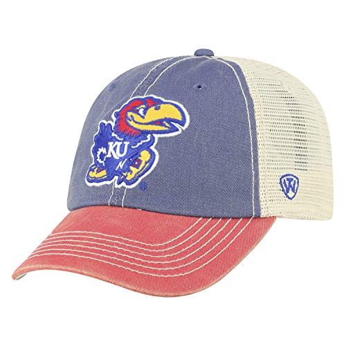 - Top of the World Kansas Jayhawks Men's Mesh-Back Hat Icon, Royal, Adjustable