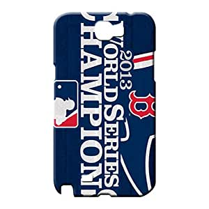 samsung note 2 covers Plastic Hot Style mobile phone covers boston red sox mlb baseball