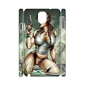 Samsung Galaxy Note 3 Case 3D Sexy Girl with Gun Yearinspace YS757087