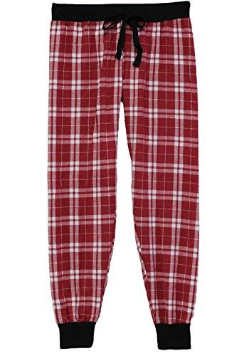 boxercraft Jogger Pant Tailgate (F60) Cotton Flannel, Adult Sizes