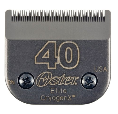 Oster Elite CryogenX Professional Animal Clipper Blade, Size # 40, My Pet Supplies
