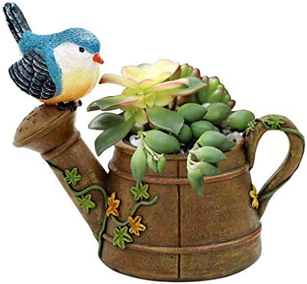 Xiang Ru 植木鉢 プランター オシャレ 多肉植物 サボテン 鳥 ミニチュア 底穴あり 可愛い
