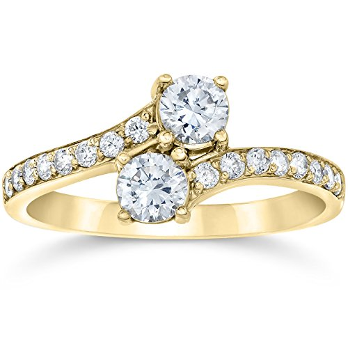 one carat diamond ring - 1