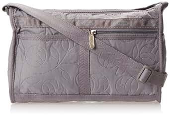 LeSportsac Small Carryall Shoulder Handbag,Cobblestone Nouveau,One Size