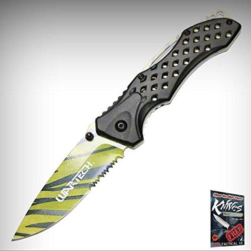 (Spring Assisteded Elite Folding Knife Wartech 3.75