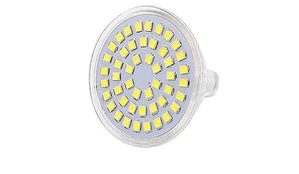 eDealMax 110V 4W MR16 2835 SMD 48 LED LED del bulbo del proyector de luz hacia abajo de la lámpara de la iluminación blanca - - Amazon.com