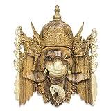 NOVICA 224663 Ganesha Wood mask