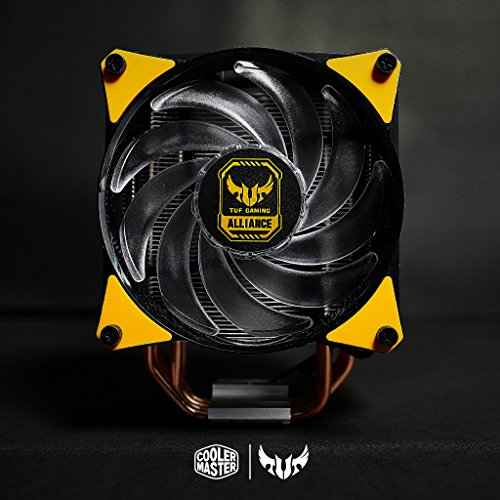 Cooler Master MasterAir MA620P TUF Edition Dual-Tower RGB CPU Air Cooler 6 Heat pipes Dual Master Fan MF120R 120mm RGB Fans (MAP-D6PN-AFNPC-R1) by Cooler Master (Image #10)