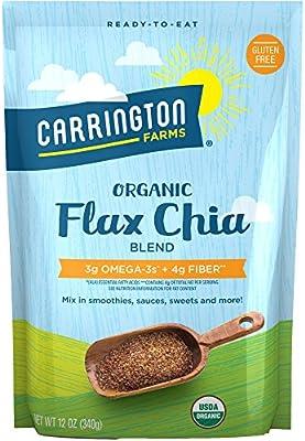 Carrington Farms Flax Chia Blend, Gluten Free, USDA Organic, 12 Ounce