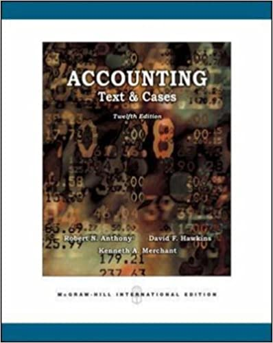 Amazon accounting texts and cases 9780071254090 robert n amazon accounting texts and cases 9780071254090 robert n anthony books fandeluxe Gallery