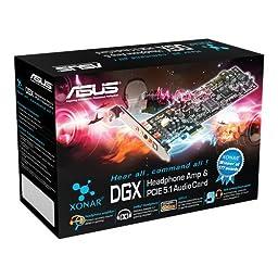 ASUS Xonar DGX PCI-E GX2.5 Audio Engine Sound Cards