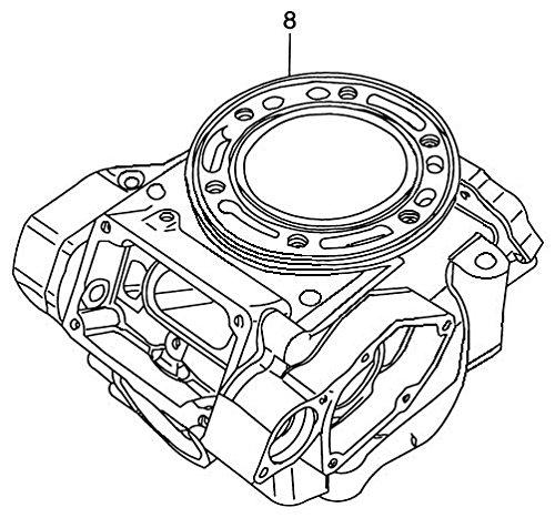 New Suzuki RM125 Cylinder JUG RM 125 11200-36870 05-08 2005 2006 2007 2008