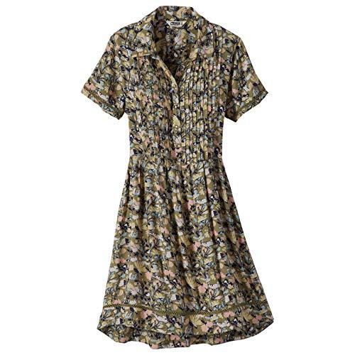 Mountain Khakis Womens Wildflower Dress: Outdoor Casual Summer Dress, Juniper, ()