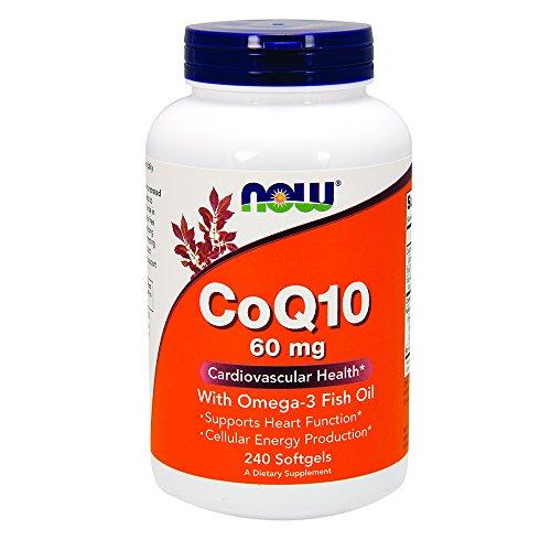 NOW CoQ10 Omega Fish Softgels
