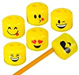 1.5'' EMOTICON SHARPENER, Case of 12