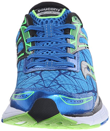 Saucony Breakthru Running Shoe Blue-Slime
