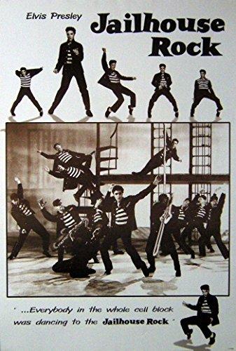 Elvis Presley#5 Jail House Rock Print Photo Poster Size 24 x35 S-0362