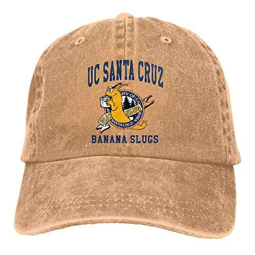UC Santa Cruz Banana Slugs Baseball Cap Hat Unisex 100% Cotton