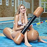 YSH Water Sports Accessory Inflatable Water-to-Water Collision Suit Water Sports Toys Games Equipment, Size: 125x35cm