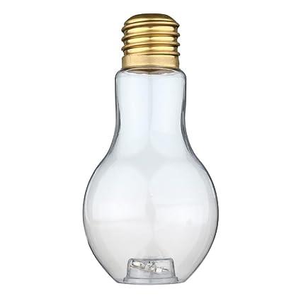 Glass Lightbulb Shaped Carafe Kitchen, Dining & Bar Brand New 100% Original