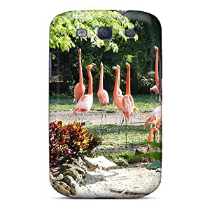 Durable Protector Case Cover With We're Pink Beautiful Hot Design For Galaxy S3