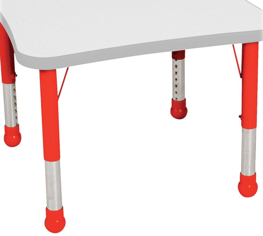 Balt Kids Leg Set for Tables, Red by Balt (Image #1)