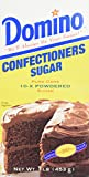 Domino Confectioners 10x Powdered Sugar (2)-1lb. boxes