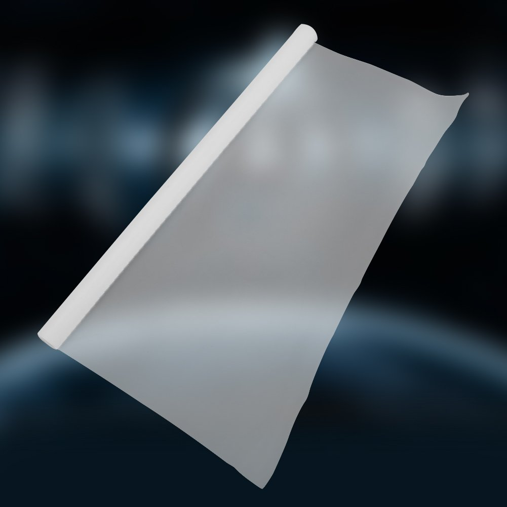 300mmx1000mm d/épaisseur 0.1mm Plaque de feuille de film PTFE r/ésistant aux temp/ératures /élev/ées//basses Film PTFE