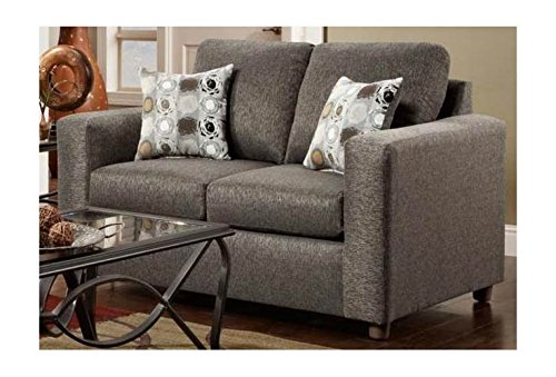 Chelsea Home Furniture Talbot Loveseat, Vivid Onyx Review