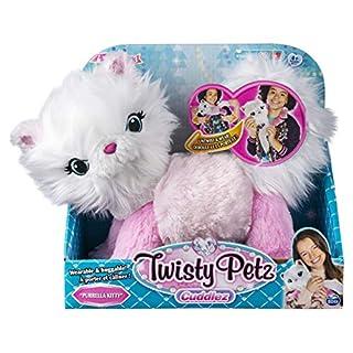 Twisty Petz Cuddlez Purrella Kitty Transforming Collectible Plush for Kids Aged 4 & Up