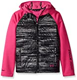 Under Armour Outerwear Girls' CGI Werewolf Jacket, Youth X-Large, Rebel Pink