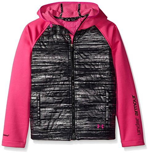 Under Armour Outerwear Girls' CGI Werewolf Jacket, Youth X-Large, Rebel Pink by Under Armour