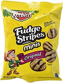 36-Pack Fudge Shoppe Mini Fudge Stripes Cookies (2-Ounce Bags)