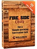 Conversation Starters Fire-Side Chats by Walden Sparking Great Conversation Around The Fire - Standard Playing Cards for…