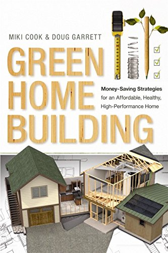 Green Home Building  Money Saving Strategies For An Affordable  Healthy  High Performance Home