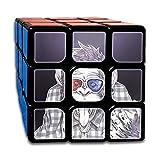 AVABAODAN Fuuny Gorilla Rubik's Cube Custom 3x3x3 Magic Square Puzzles Game Portable Toys-Anti Stress For Anti-anxiety Adults Kids