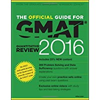 The Official Guide for GMAT Quantitative Review 2016 with Online Question Bank and Exclusive Video