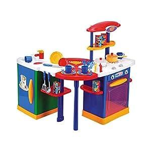 just like home mix 39 n match kitchen center blue toys games. Black Bedroom Furniture Sets. Home Design Ideas