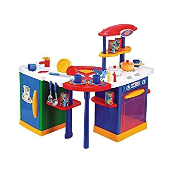 Just Like Home Mix N Match Kitchen Center Blue Amazon Co Uk