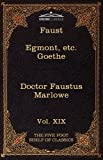 Faust, Part I, Egmont and Hermann, Dorothea, Dr Faustus, Silas White and Christopher Marlowe, 1616401419