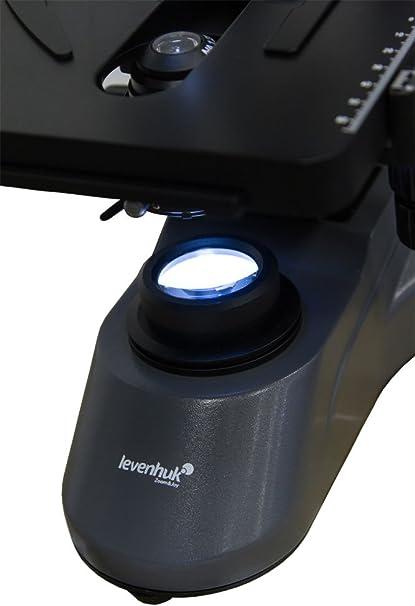 Microscopio Trinocular Escolar Levenhuk 740T con Aceite de ...