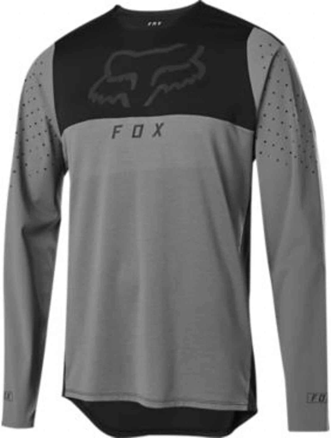 Fox Racing Flexair Delta LS Jersey, Pewter, Small