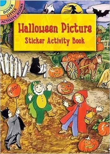 Halloween Picture Sticker Activity Book (Dover Little Activity ...