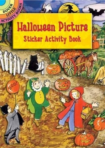 - Halloween Picture Sticker Activity Book (Dover Little Activity Books) (Vol i)