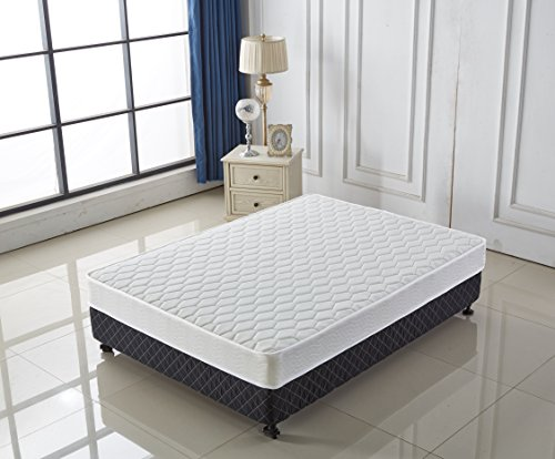 Signature Comfort Sleep 7-Inch Twin Mattress Soft Plush Twin Mattresses Model T-001 (Twin Size) by AS Quality