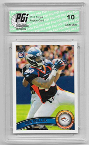 (2011 Von Miller Topps Rookie Card #427 PGI 10 Denver Broncos)