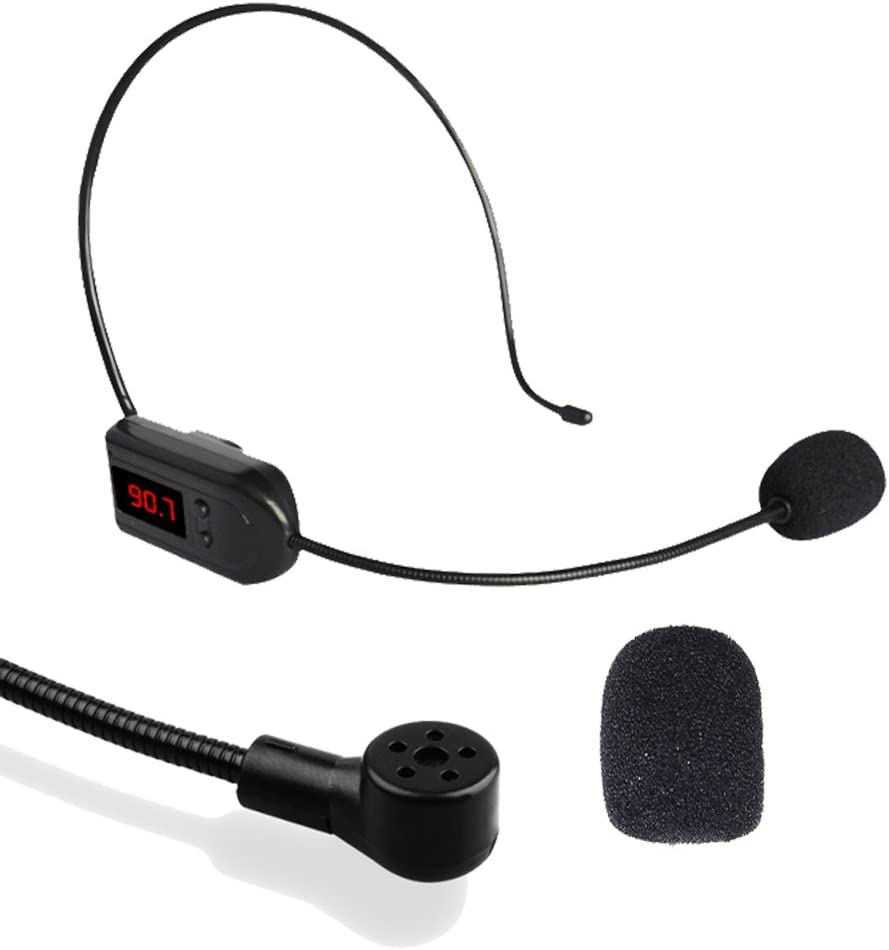 Borte Lapel Casque Mousse Microphone Couvre Noir 15 Pcs Microphone Bonnettes