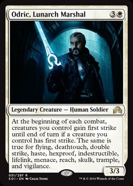 Magic: The Gathering Odric, Lunarch Marshal - Shadows over Innistrad